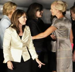Palin and Cindy McCain